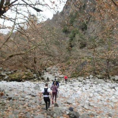 mt. running in Zagori