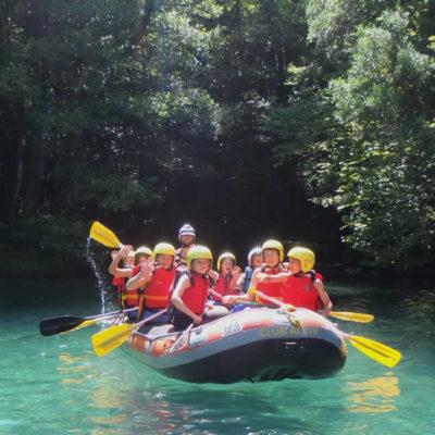 rafting in Zagori, Greece