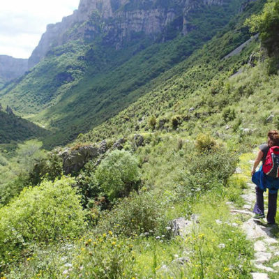 trekking in Zagori and the National and Geopark of Vikos-Aoos