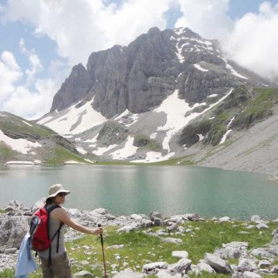 trekking στο Ζαγόρι στην Δρακόλιμνη
